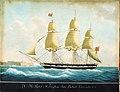 HM Packet Walsingham, John Bullock Commander, by Cammillieri.jpg