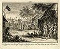 HUA-32301-Afbeelding van enkele legertenten buiten Utrecht met op de voorgrond die van graaf Dirk IV van Holland en een processie onder leiding van de bisschop .jpg