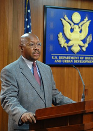 Alphonso Jackson - Secretary Jackson Announces Homeless Assessment to Congress