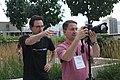 Hackathon group photo taking at Wikimania 2017 - KTC 2.jpg