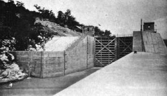 Marion County, Tennessee - Lock at Hales Bar Dam, 1916