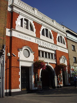 Half Moon Theatre - The former Half Moon Theatre, now a public house