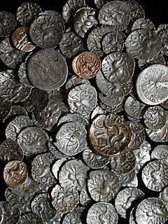 Hoard of British Iron Age coins