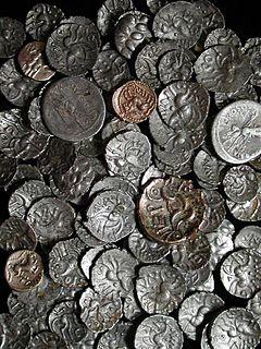 Hallaton Treasure Hoard of British Iron Age coins