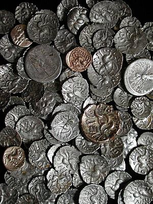 Hallaton Treasure - Iron Age coins from the Hallaton Treasure