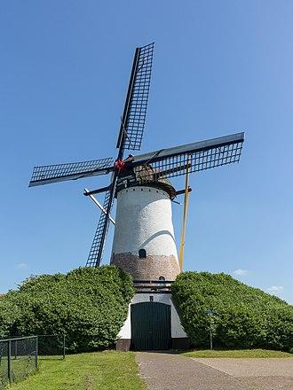 Halsteren - Windmill: de Sint Antoniusmolen