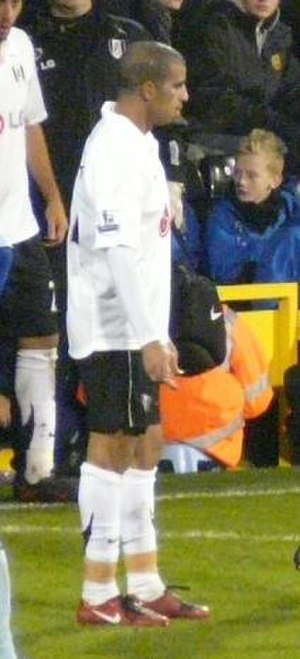 Hameur Bouazza - Bouazza playing for Fulham in 2007