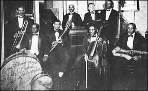 Hesitation Blues - W. C. Handy with his 1918 Memphis orchestra