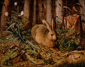 Hans Hoffmann Hare in the forest 1585.jpg