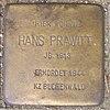 Stolperstein für Hans Prawitt
