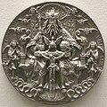 Hans reinhardt, medaglia argentea della trinità, 1544.JPG