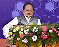 Harsh Vardhan addressing at the inauguration of the Platinum Jubilee Celebrations of CSIR-IICT (Indian Institute of Chemical Technology), in Hyderabad.JPG