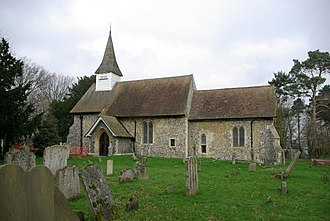 Hartley, Kent - Image: Hartley Church geograph.org.uk 326758