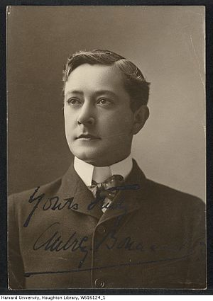 Aubrey Boucicault - Image: Harvard Theatre Collection Aubrey Boucicault TCS 1.3222