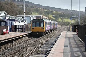 Hope Valley line - A pair of Northern Rail Pacers at Hathersage