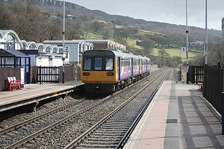 Hope Valley line Trans-Pennine railway line in Northern England