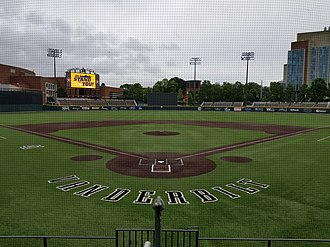 Hawkins Field - View of Hawkins Field from Home Plate