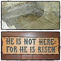 He is not here for He is risen by Madelien Knight.jpg
