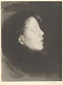 Head of a Woman (Tête de femme) (Nelly Carrière - Closed Eyes - Profile of a Young Girl) MET DP838002.jpg