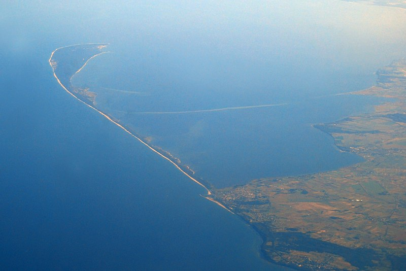 Hel Peninsula - in east direction