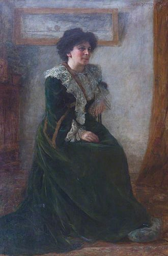 University of London (Worldwide) - Image: Helena Arsène Darmesteter Portrait of Hertha Ayrton