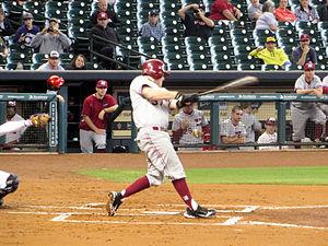 Henderson State University - Baseball player Andrew Reynolds in 2014