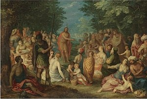 The Preaching of St. John the Baptist