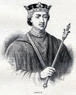 Henry II of England - Illustration from Cassell's History of England - Century Edition - published circa 1902.jpg