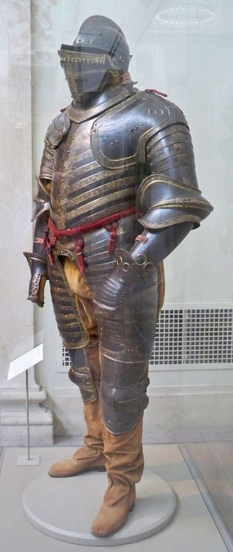 Inventory of Henry VIII of England - An Italian armour of Henry VIII, now in the Metropolitan Museum of Art
