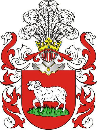 Feliks Sobański - Junosza arms, Sobański family crest