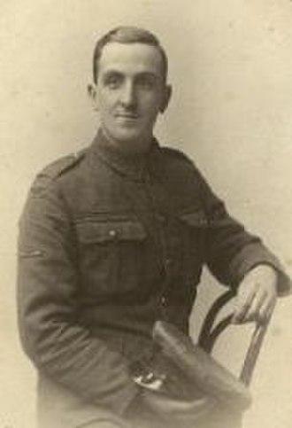 Herbert Barker (golfer) - Image: Herbert Barker Military