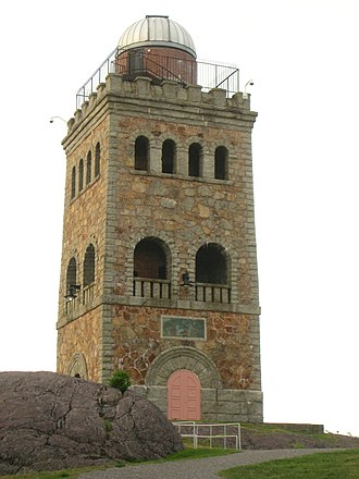 Holman K. Wheeler - High Rock Tower, Lynn, 1904.