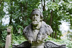 George Holyoake - The grave of George Holyoake, Highgate Cemetery, London