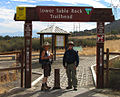 Hikers at Lower Table Rock trail head (15115409214).jpg