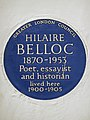 Hilaire Belloc 1870-1953 Poet Essayist and Historian lived here 1900-1905 (3).jpg