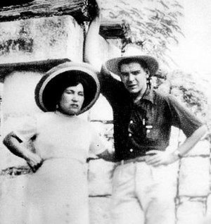 Hilda Gadea - Hilda Gadea and Che Guevara on their honeymoon trip