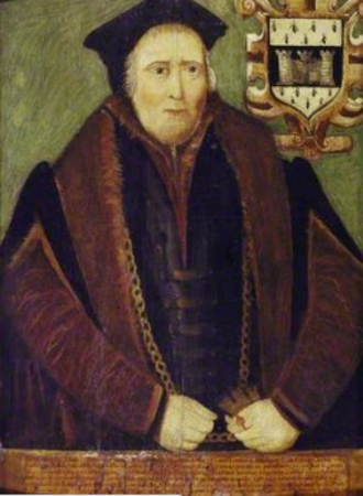 Rowland Hill (MP) - Sir Rowland Hill as Lord Mayor of London