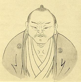 Hirata Atsutane - Atsutane's Portrait by his pupil