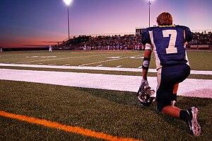 A Highschool American Football game