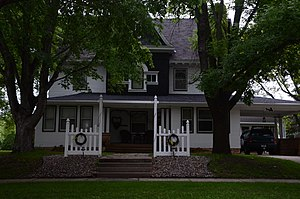 National Register of Historic Places listings in Lyon County, Minnesota - Image: Historic J. S. Anderson House in Minneota, Minnesota, United States