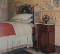 Hjalmar Sørensen - Kristian Zahrtmanns soveværelse i Civita d'Antino - 1911.png