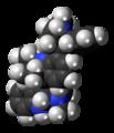 Hodgkinsine molecule spacefill.png