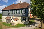 Hohenloher Freilandmuseum - Baugruppe Hohenloher Dorf - Schulhaus aus Satteldorf von W.jpg