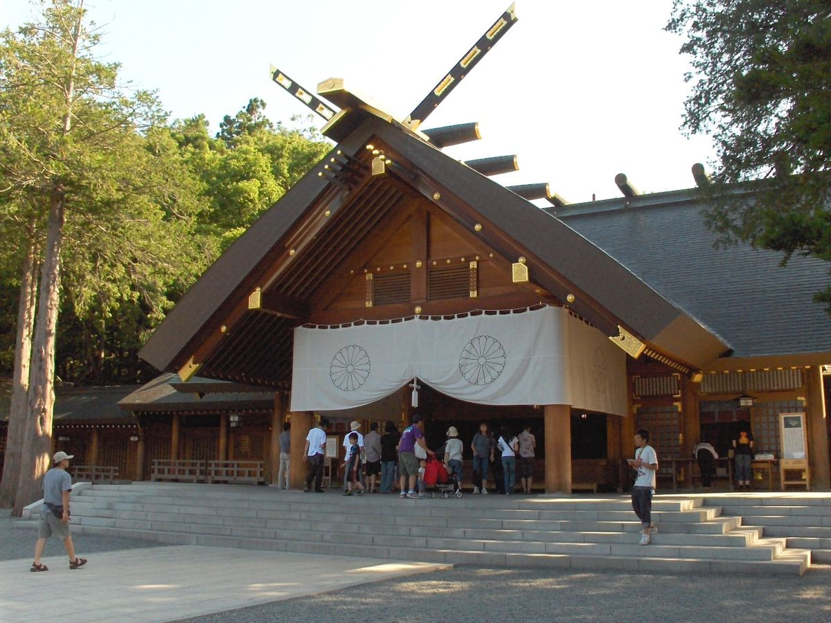 Hokkaidō Shrine - Wikipedia