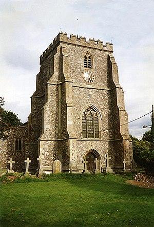 Ramsbury - Image: Holy Cross Ramsbury