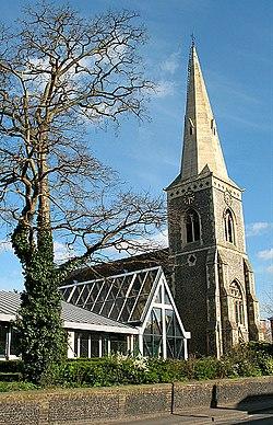Holy Trinity church, Wallington - geograph.org.uk - 1221264.jpg