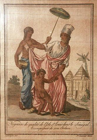 Signare - Image: Hommes femmes et scènes du Sénégal Jacques Grasset de Saint Sauveur mg 8495