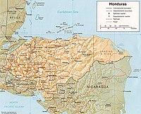 Geografa de Honduras  Wikipedia la enciclopedia libre