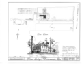 Hope Lodge, Bethlehem and Skippack Pikes, Whitemarsh, Montgomery County, PA HABS PA,46-WHIM,2- (sheet 1 of 12).png