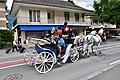 Horse Drawn Carriages in Interlaken 01.jpg